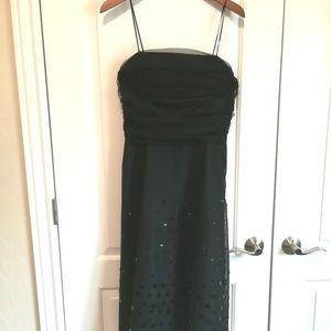 Jessica Howard black retro formal dress